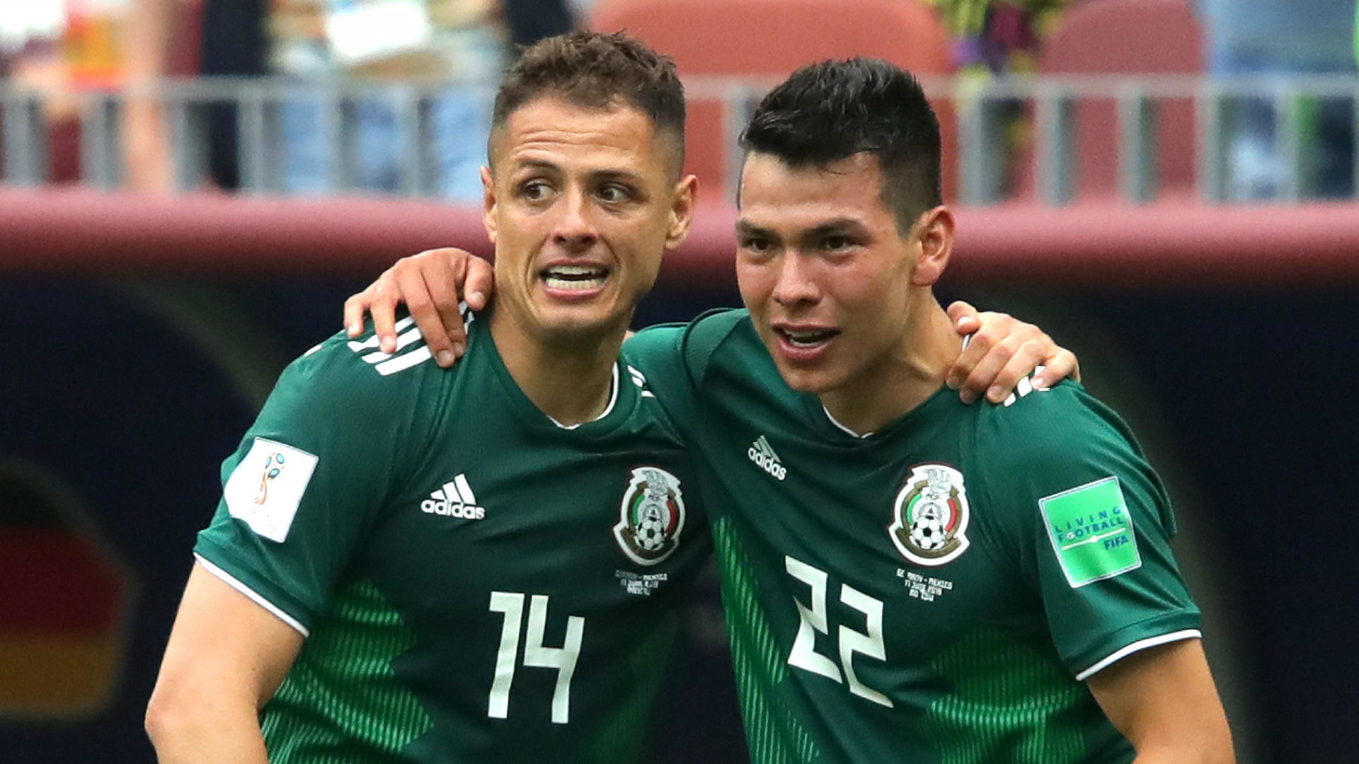 Hernandez landmark goal sends Mexico past Korea Republic