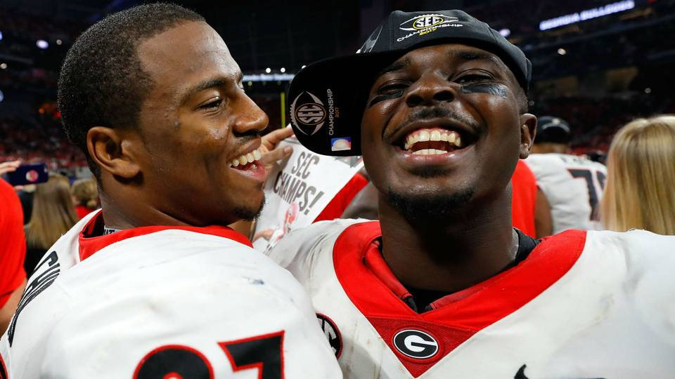 Nick Chubb and Sony Michel