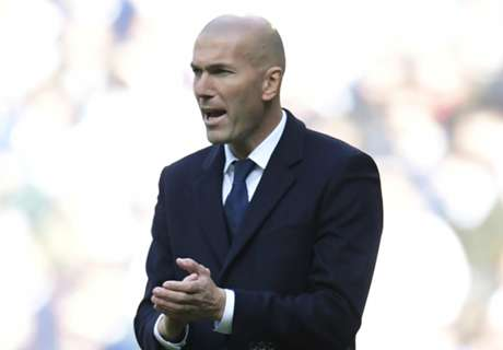 Zidane not thinking about treble