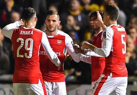 Arsenal au petit trot