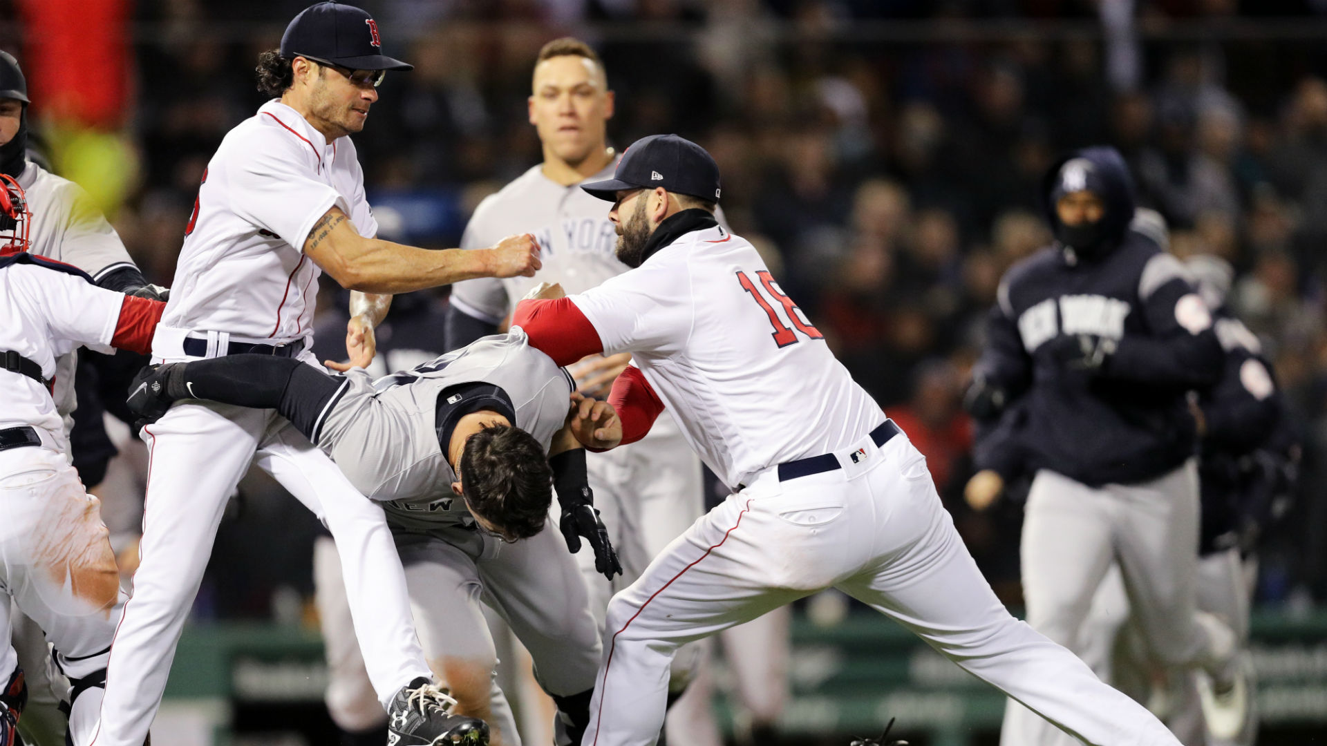 A Brief History of Yankees-Red Sox Brawls