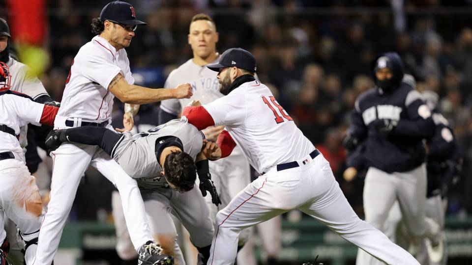 Yankees-Red Sox fight