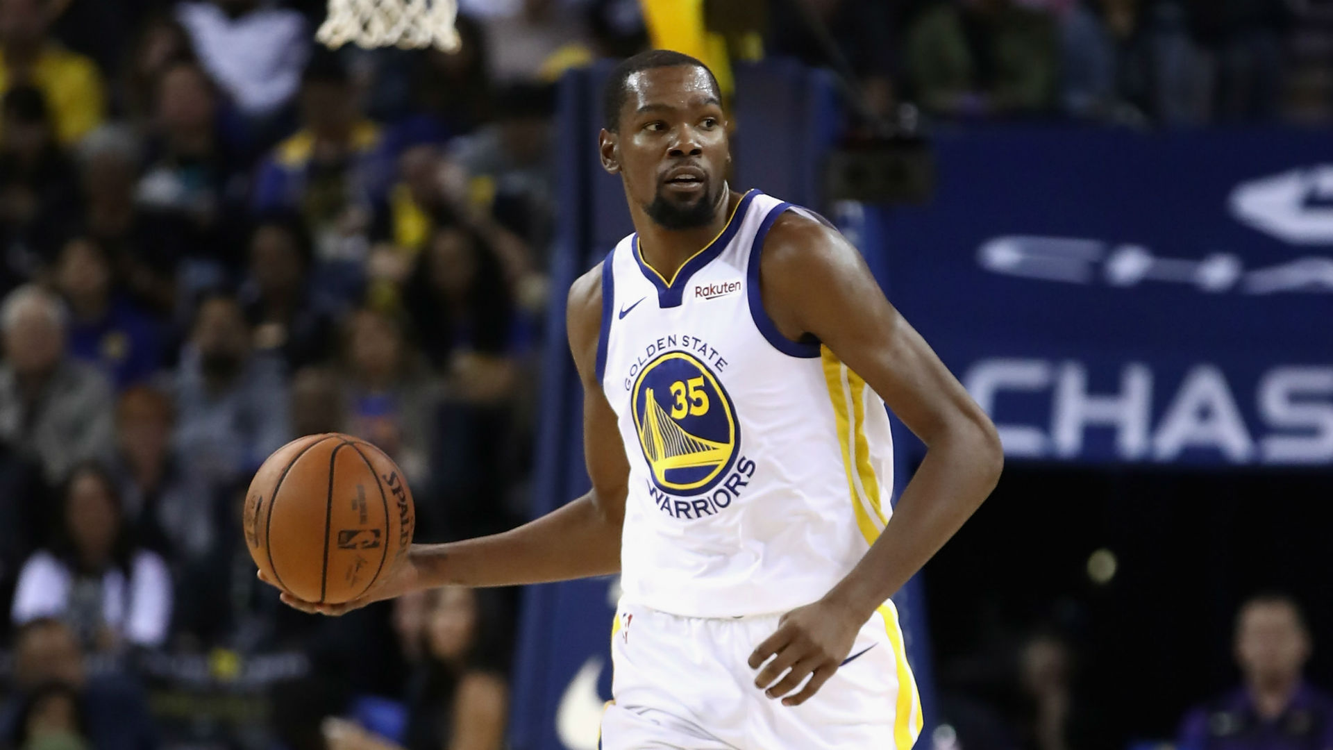 Durant leads short-handed Warriors past Nets, 116-100