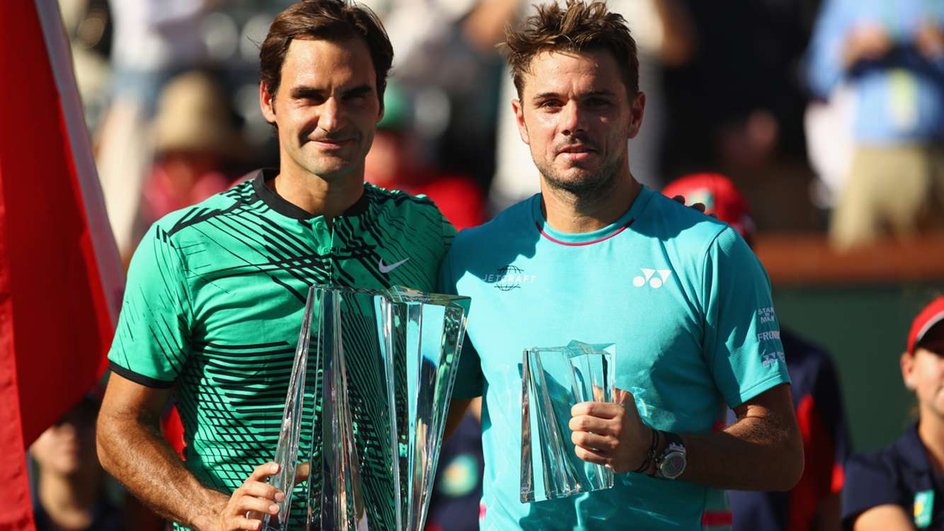 He's an a****** - Wawrinka jokingly teases Federer after Indian Wells final