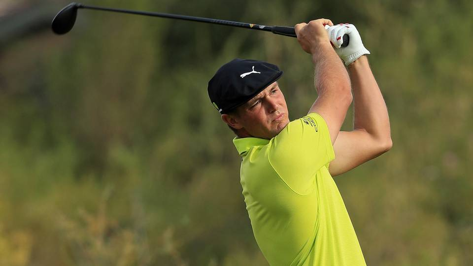 Shriners Hospital for Children's Open: Bryson DeChambeau, Peter Uihlein share lead after Round 3