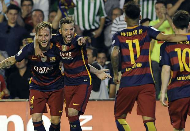 ไฮไลท์  Real Betis 0 - 2 Barcelona