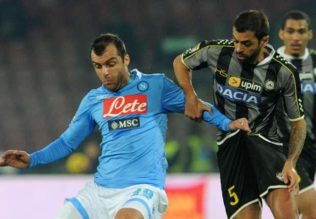 Napoli obtuvo un punto que no suma ante Udinese