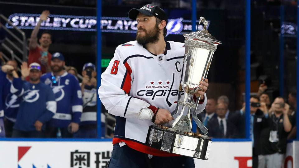 NHL playoffs 2018  Alex Ovechkin defies superstition f1073c49a8a3