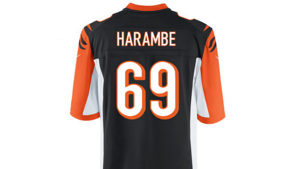 You can honor Harambe s legacy at NFL Shop again  f12815b19