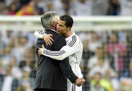Ancelotti hails Ronaldo commitment