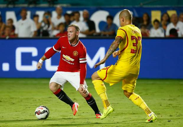 Manchester United 3-1: Liverpool: Rooney and Mata seal first trophy for Van Gaal
