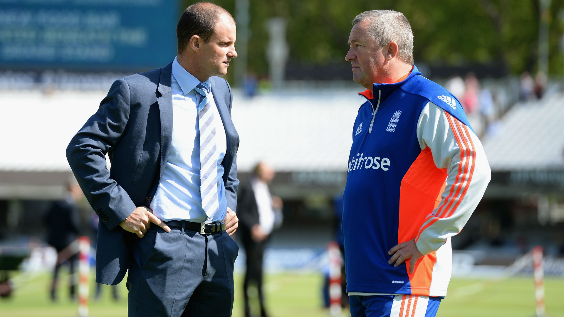 Andrew Strauss and Paul Farbrace - cropped