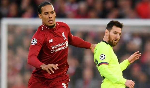 Virgil van Dijk and Lionel Messi - cropped