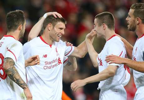 Milner bags first Liverpool goal