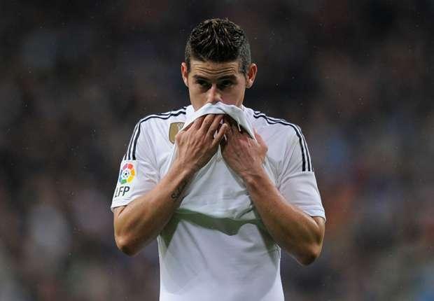 Madrid confirm broken foot for James