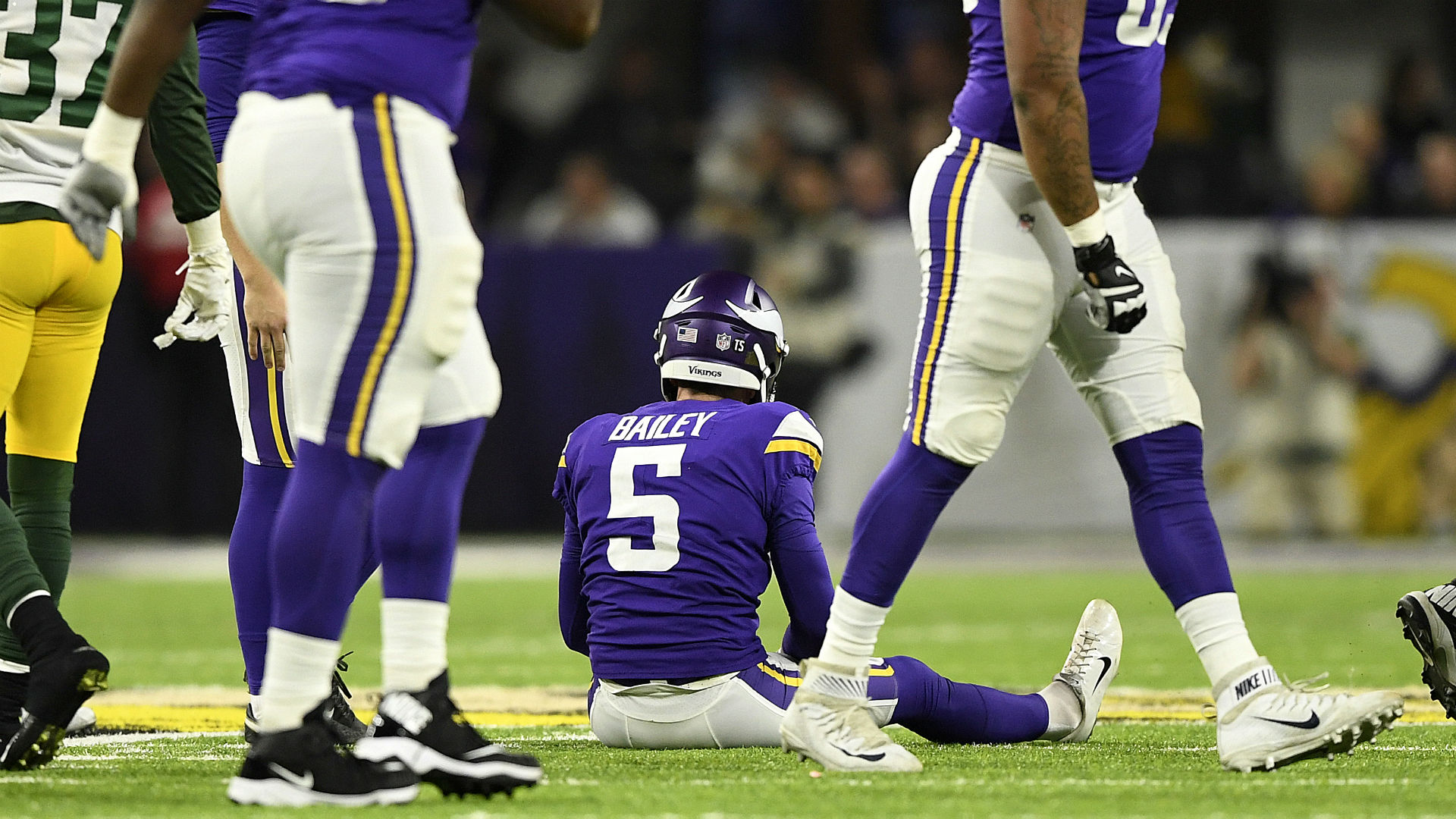 Vikings coach Mike Zimmer voices support for kicker Dan Bailey