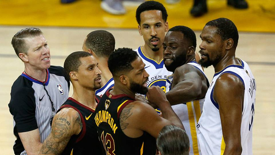 nba finals 2018 cavaliers tristan thompson fined 25 000 for game
