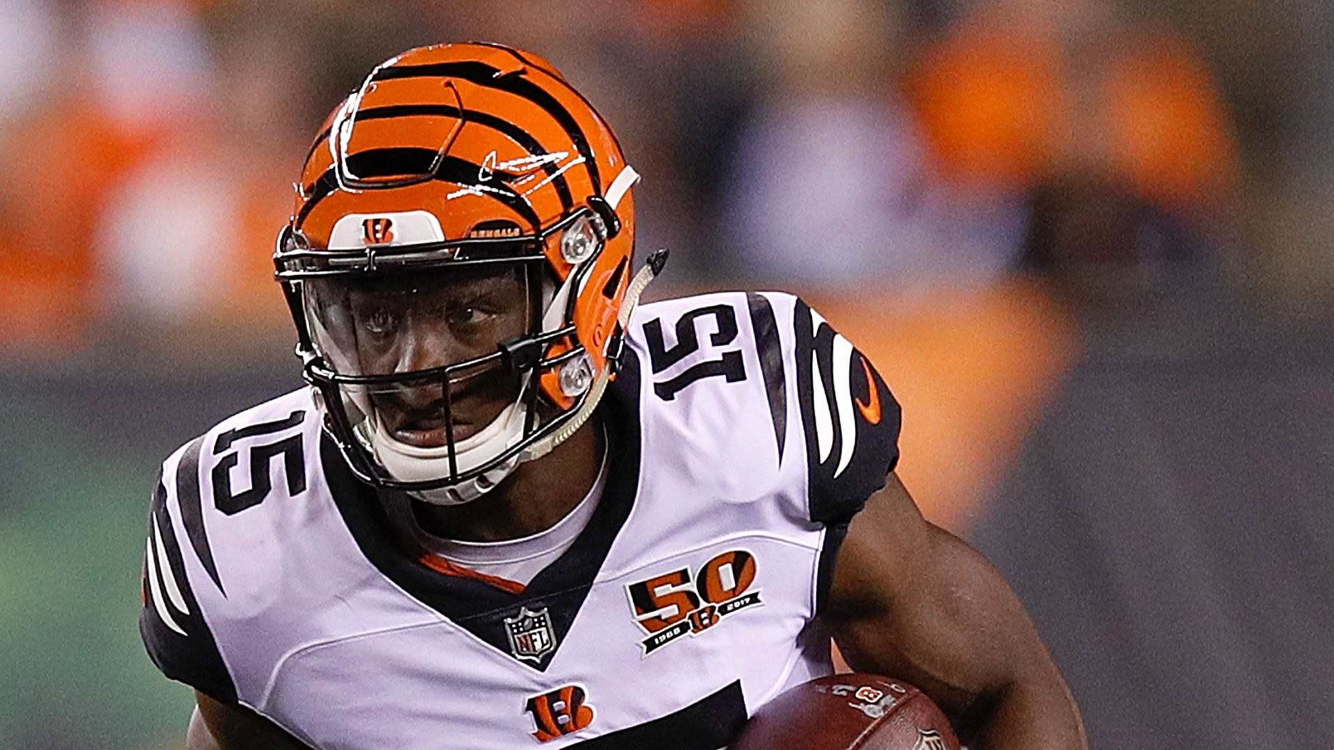 WR John Ross hid shoulder injury from Bengals, coach Marvin Lewis says