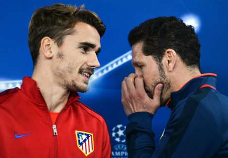 Griezmann wants Simeone to stay