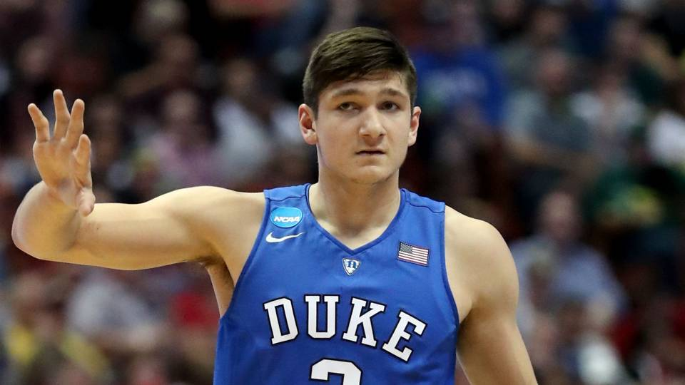 Duke star Grayson Allen2017FTR