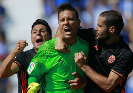 Diego Alves makes La Liga history