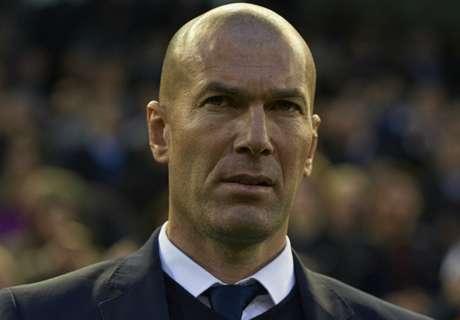 Zidane lauds Madrid's patience