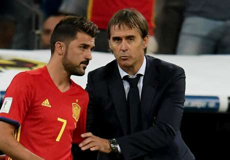 Spain striker Villa determined to go to World Cup