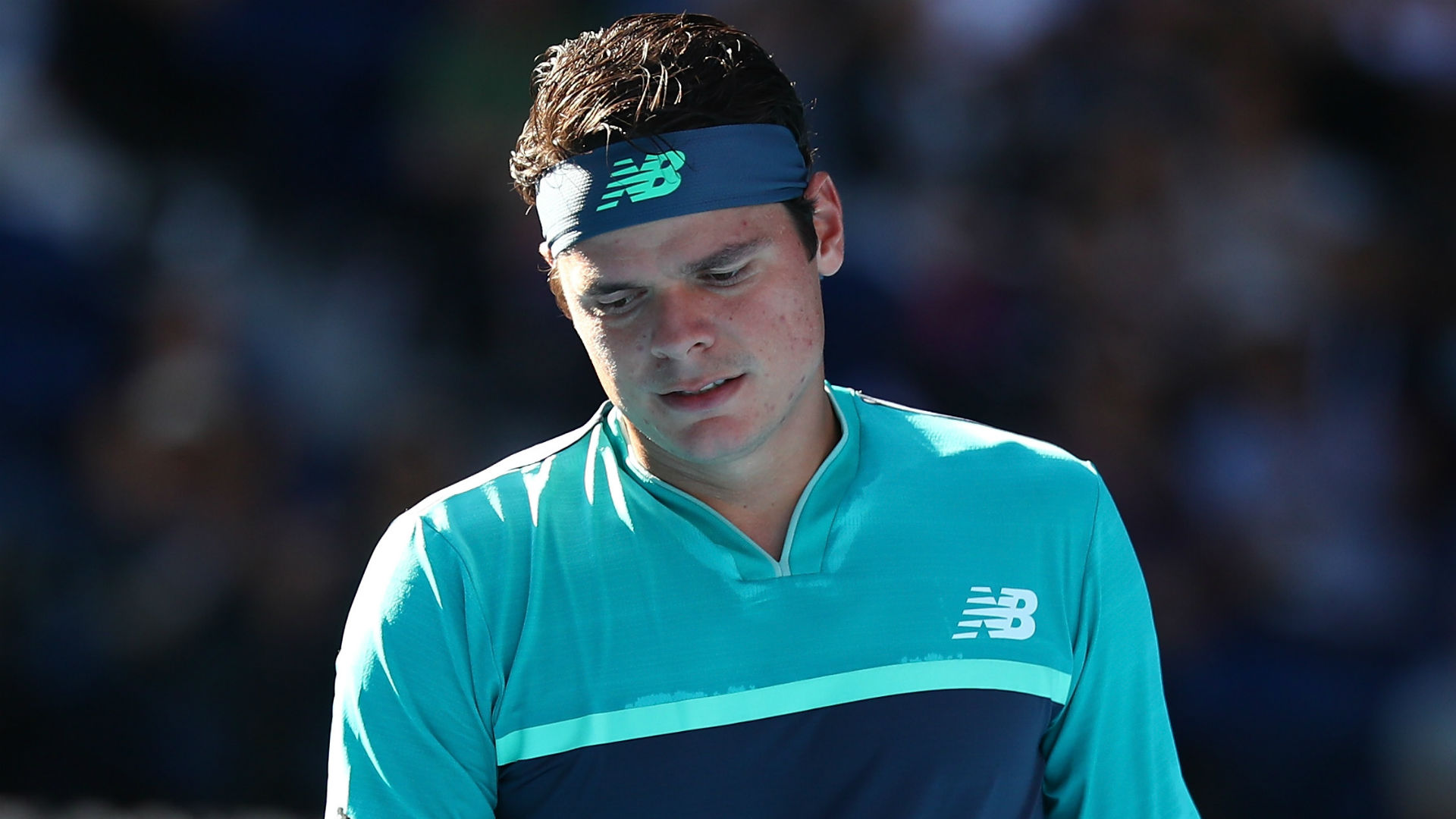 Milos Raonic to assess knee problem, hopes to avoid surgery