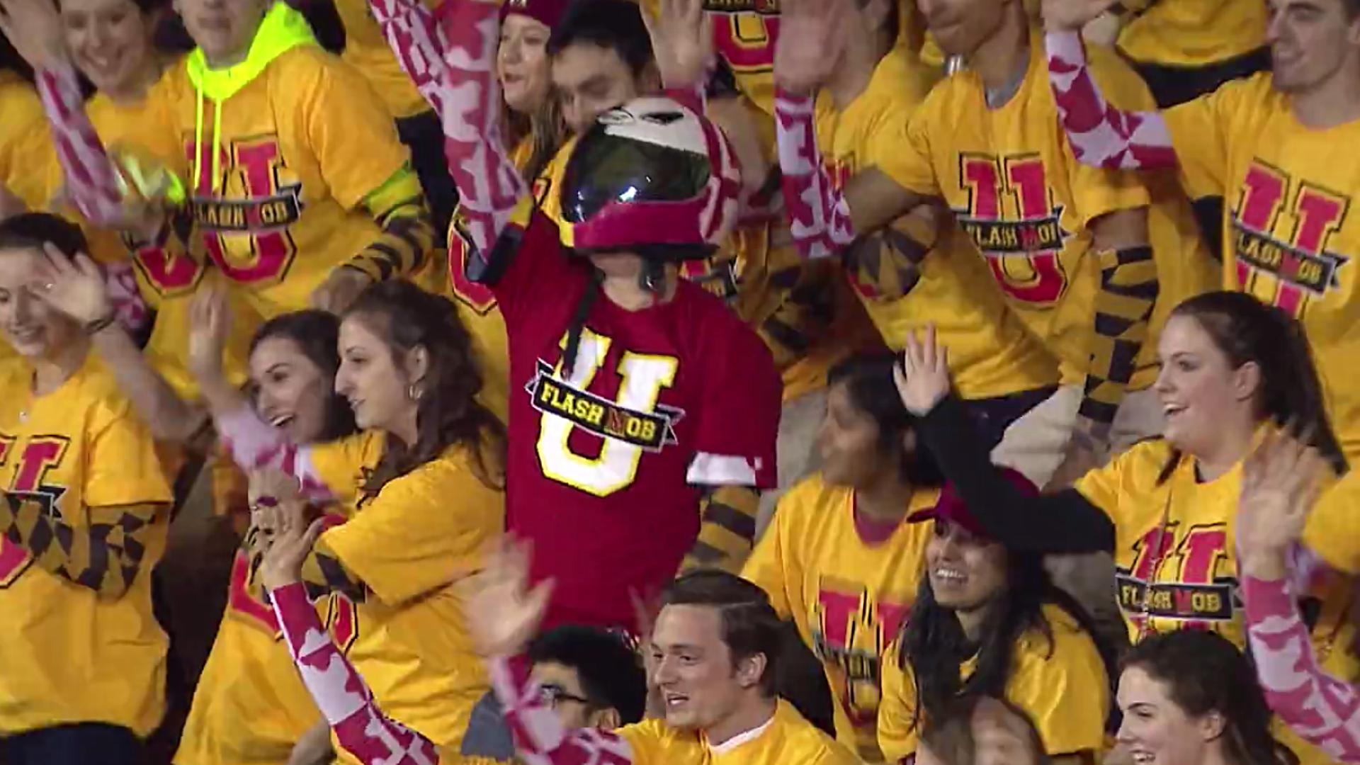 A Mo Bb Maryland Students Pull Off Epic Star Wars Themed Flash Mob Vs
