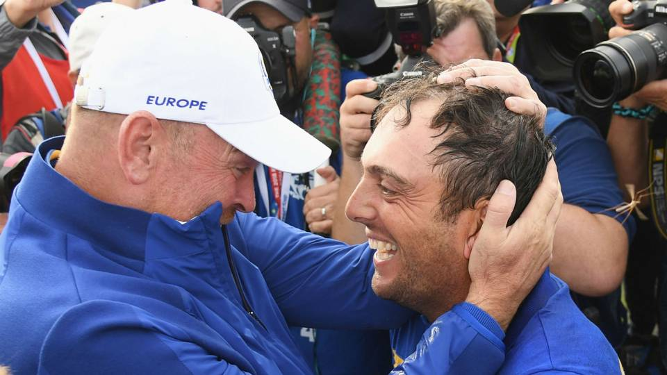 Ryder Cup 2018: Francesco Molinari says win means so much more than any major