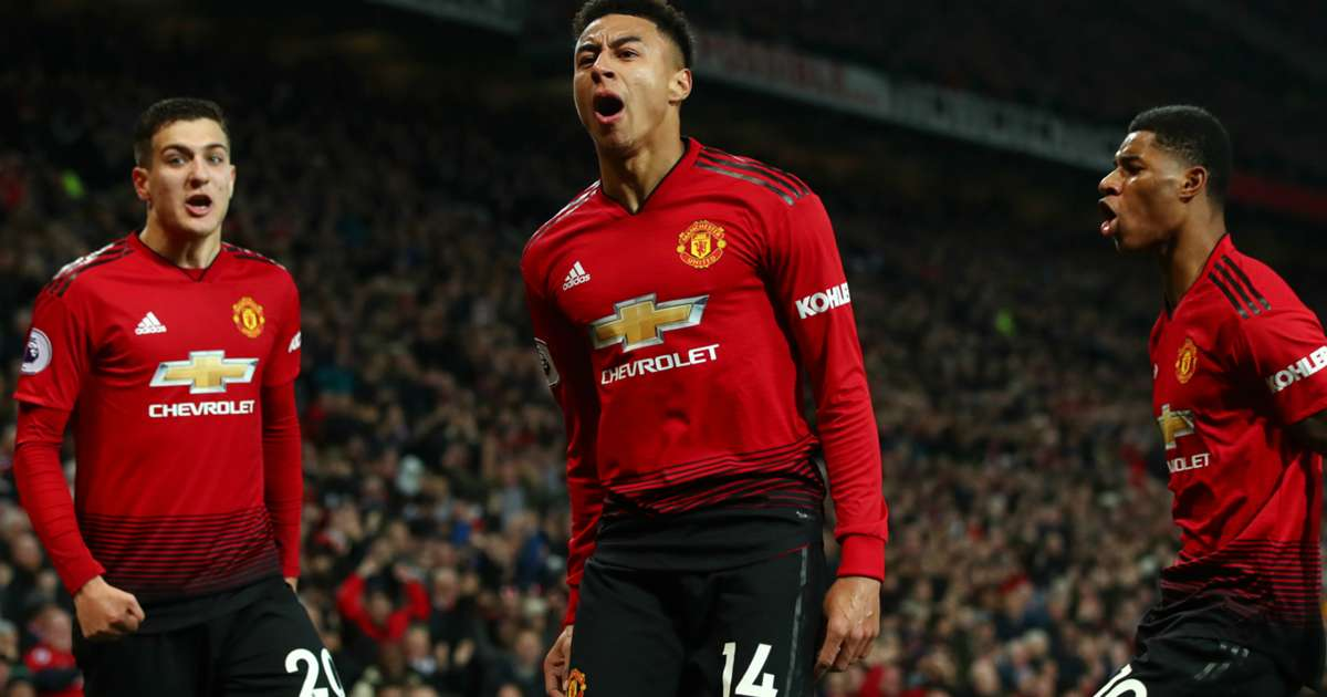 info for dfd69 ebbea Lingard and Man United still believe in top-four chances