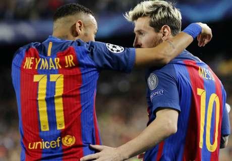 'Messi will help Neymar be the best'