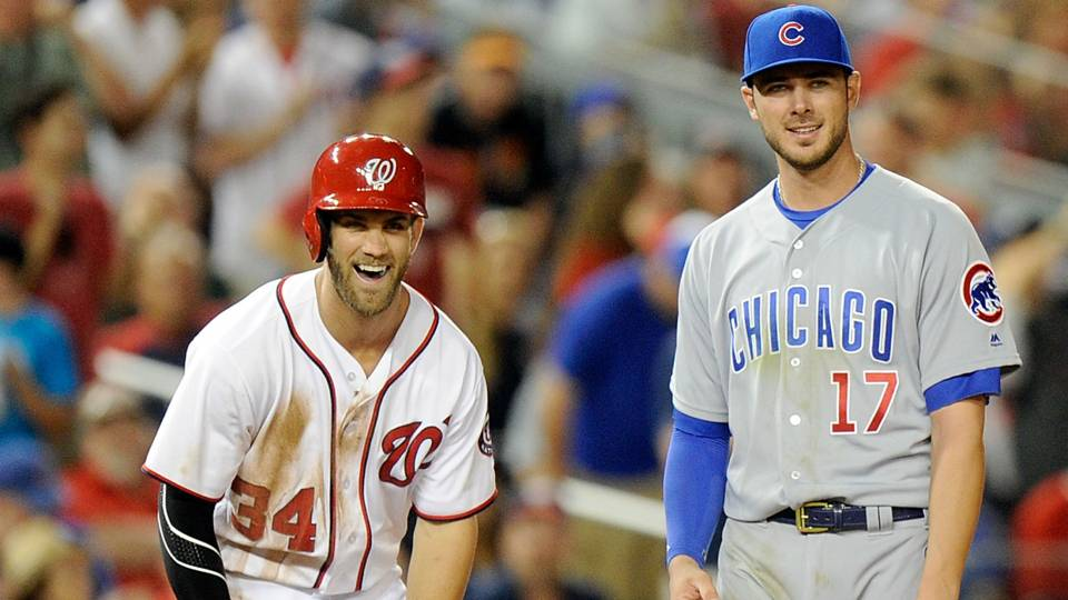 Bryce Harper and Kris Bryant