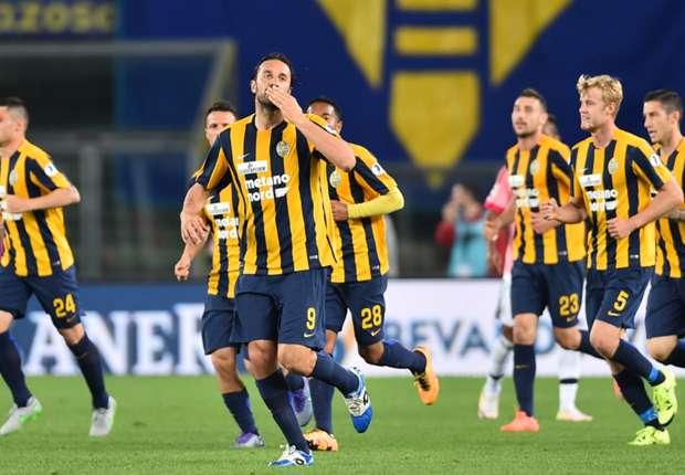 ไฮไลท์  Hellas Verona 2 - 1 Juventus