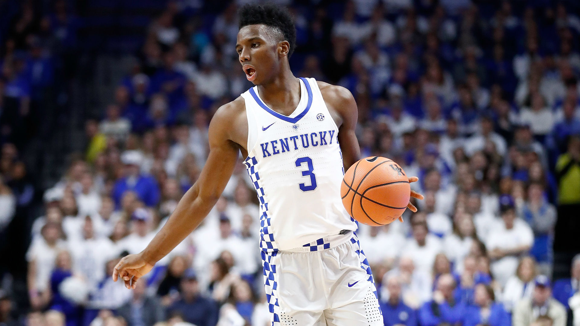 Kentucky Wildcats' Hamidou Diallo goes No. 45