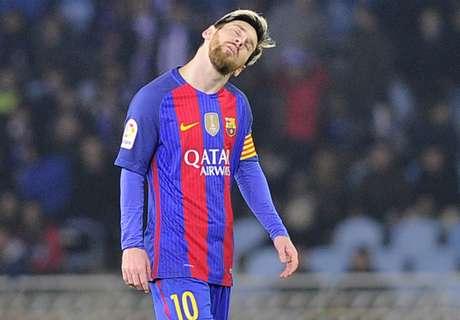 Barca's worst half this season