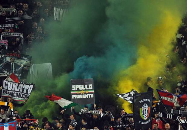 Juventus fined £20,600 over Superga banners