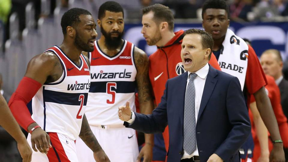 eb6675316 Wizards coach Scott Brooks says team can compete for playoffs in  LeBron-less East