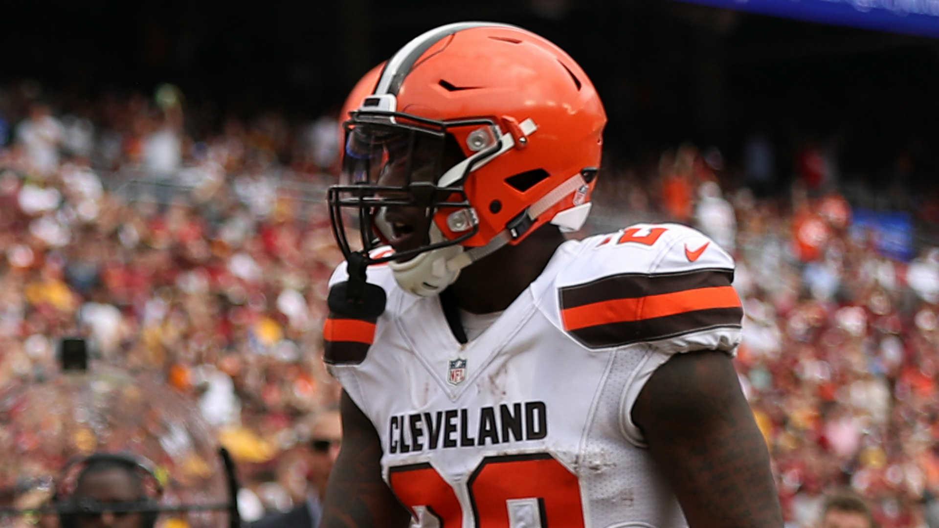 Browns trade disgruntled running back Duke Johnson to Texans
