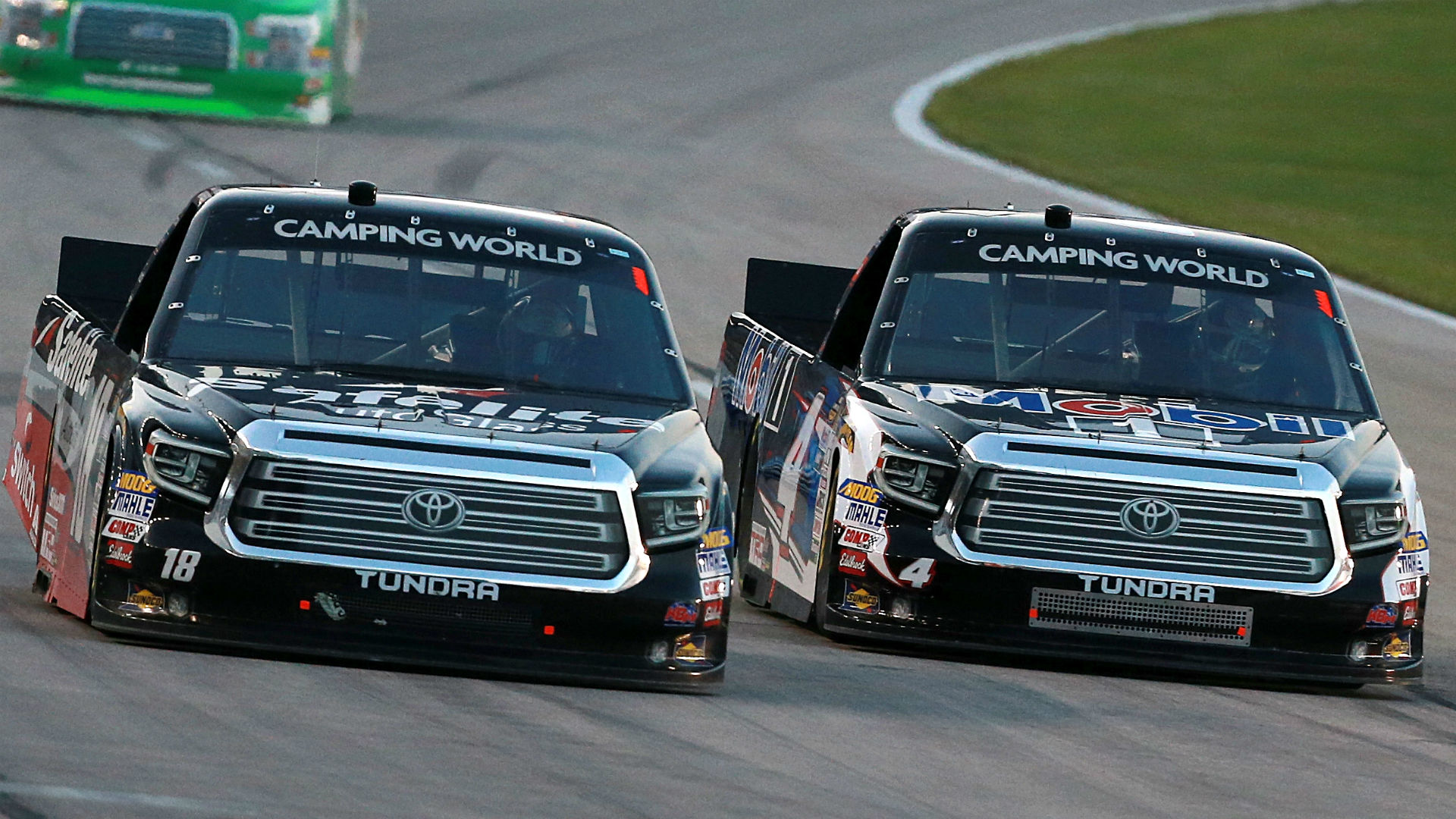 Justin Haley wins NASCAR Truck race after Noah Gragson, Todd Gilliland collide