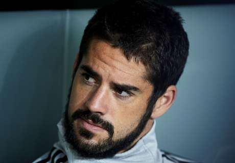 Isco set for period on the sidelines after appendix surgery