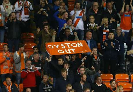 Blackpool game declared finished