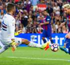 Messi brace leads Barca
