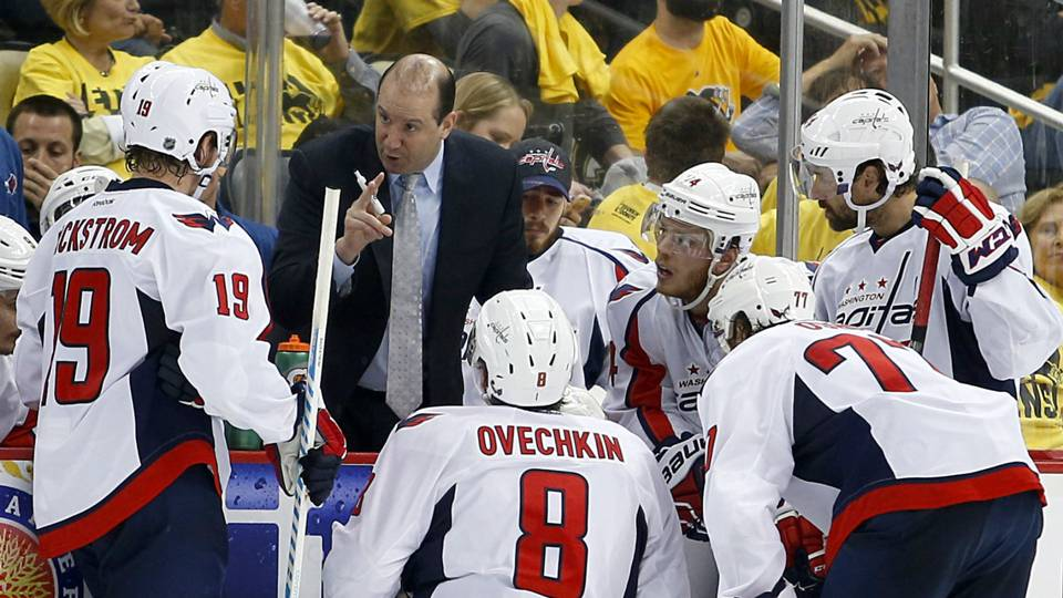 Capitals name Todd Reirden as head coach
