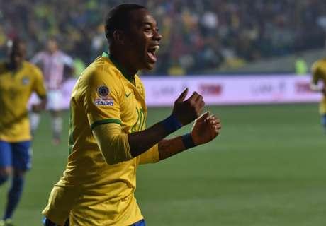 Robinho eyeing Brazil comeback