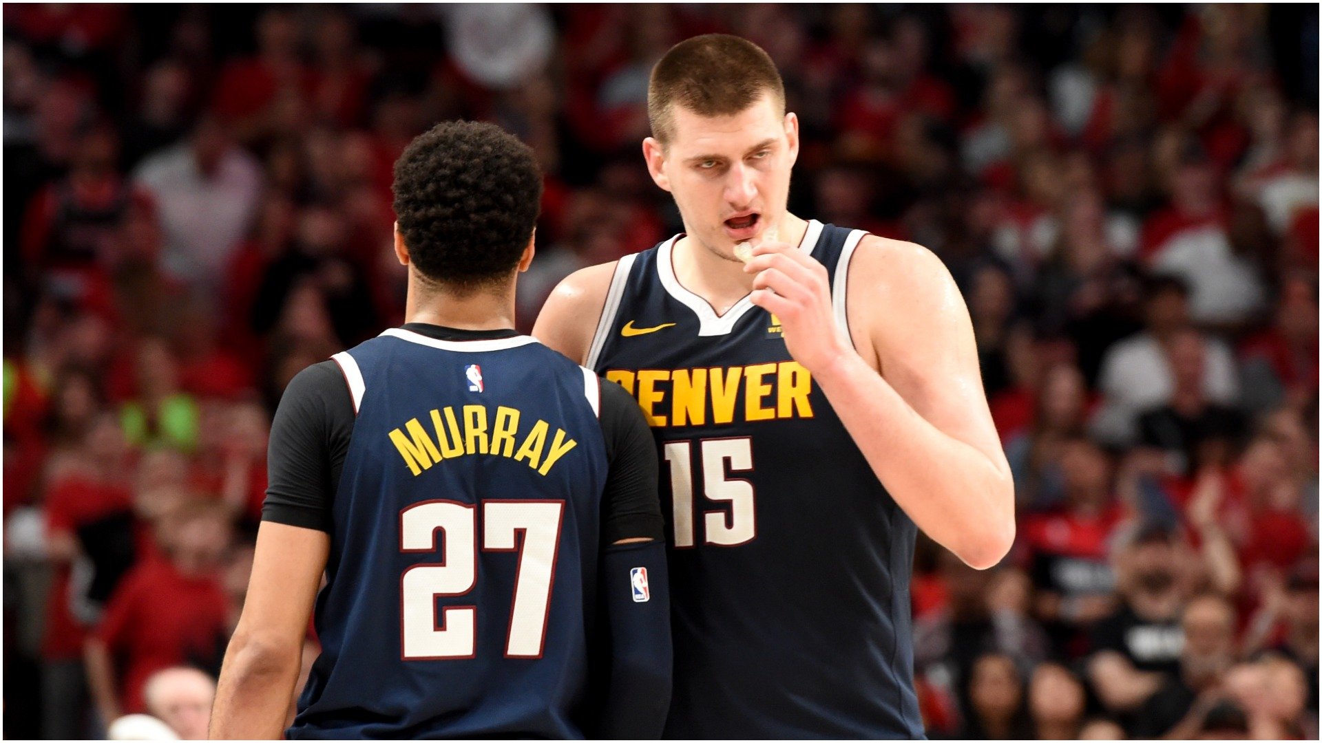 NBA playoffs 2019: Nikola Jokic's triple-double was a mic-break moment