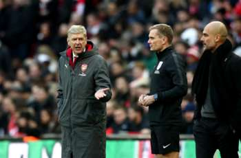 Wenger trolled by Wembley official in Man City humbling
