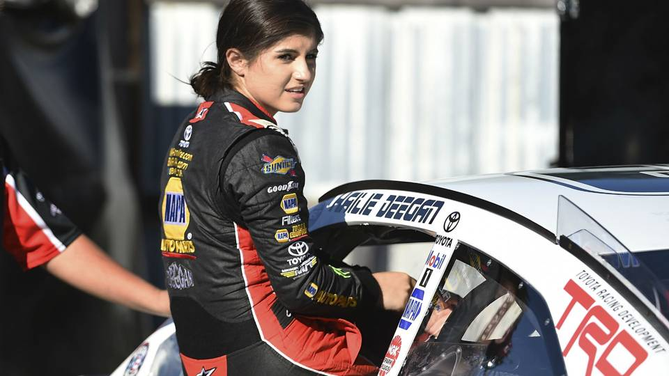 Hailie Deegan becomes first female to win K&N Pro Series race