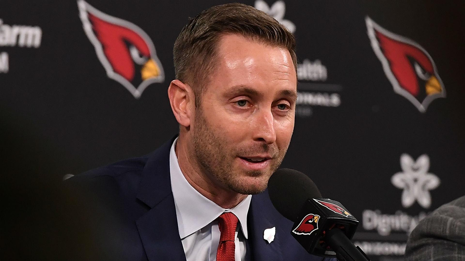 Kilff Kingsbury talks Josh Rosen, David Johnson during Cardinals introduction