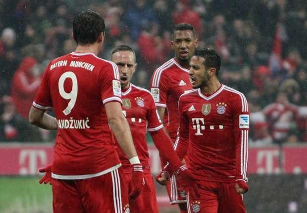 Der FC Bayern hatte wieder reichlich Grund zum Jubel